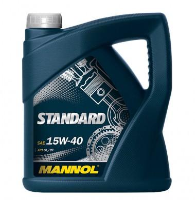 MANNOL STANDART 15W40 4L