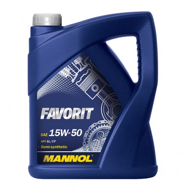 MANNOL FAVORIT 15W50 5L