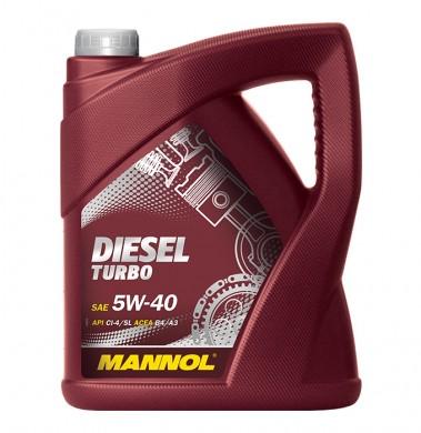 MANNOL DIESEL TURBO 5W40 5L