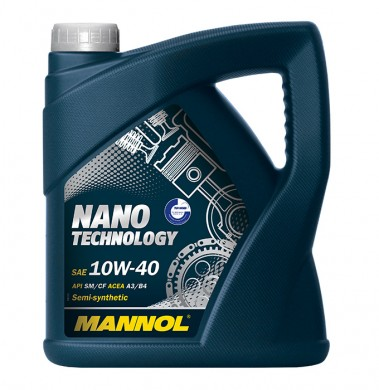 MANNOL NANO TECHNOLOGY 10W40 4L
