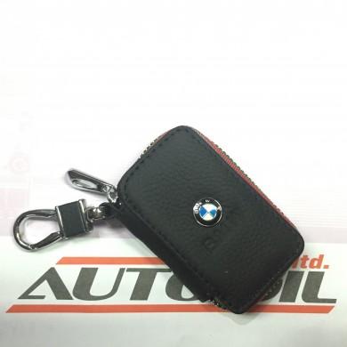 Кожен ключодържател с цип BMW