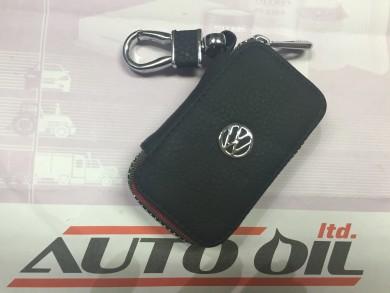 Кожен ключодържател с цип VW