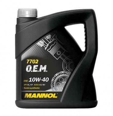 MANNOL10W40 O.E.M OPEL/CHEVROLET 7702 4L