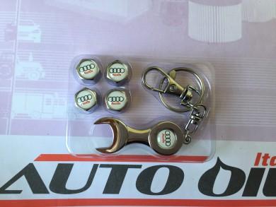 Ключодържател+капачки за винтили AUDI б