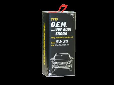 MANNOL O.E.M. AUDI/VW 5W30 5L 7715