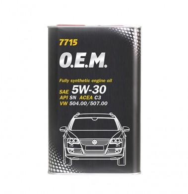 MANNOL O.E.M. AUDI/VW 5W30 1L 7715