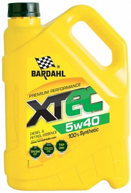 Bardahl  XTEC 5W40 5L